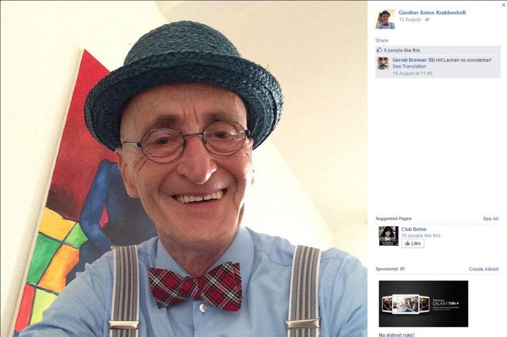 (FOTO) GOSPODIN KAKVIH VIŠE NEMA: On ima 104 godine, a njegov stil nateraće vas da se zamislite