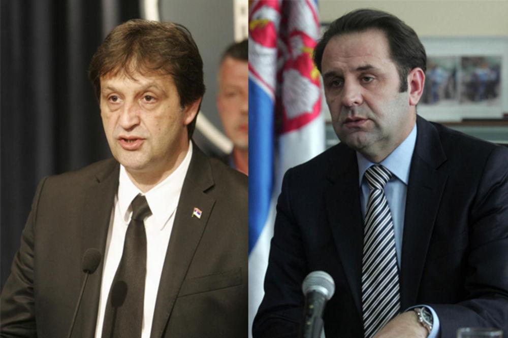 ALBANCI PRISVAJAJU SRPSKE MINISTRE: Gašić i Ljajić predstavljeni kao Gaši i Ljaji!