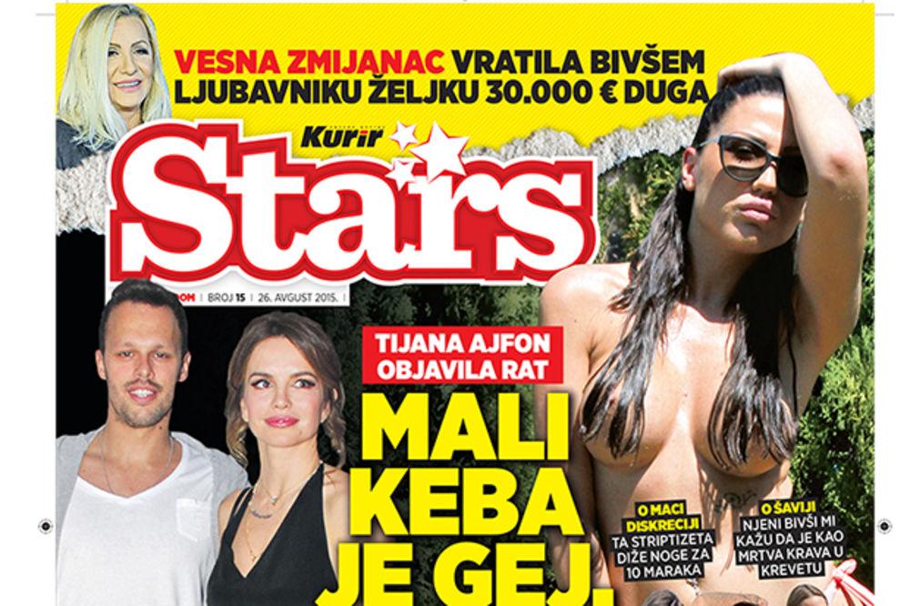 NOVI STARS Tijana Ajfon: Kebin sin voli muškarce