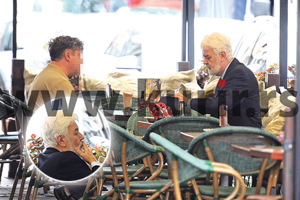 PAPARACO: Bivši premijer Cvetković truje se kafom i cigaretama