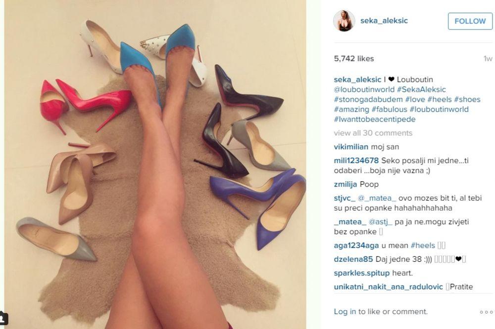 ŠIROKO: Evo čime se domaće zvezde razmeću po Instagramu!