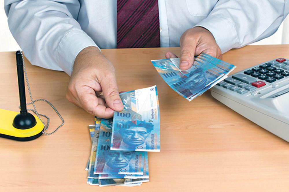 KREDITI U ŠVAJCARCIMA: Banke traže od klijenata da ih ne tuže