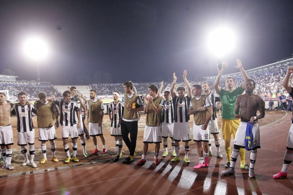 (FOTO) UEFA IZBACILA PARTIZAN IZ LIGE EVROPE: Crno-beli izbrisani sa spiska učesnika