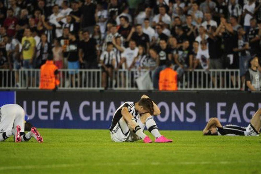 (VIDEO, FOTO) LIGA ŠAMPIONA OSTALA SAN: Partizanu uteha u Ligi Evrope posle ispadanja od Belorusa