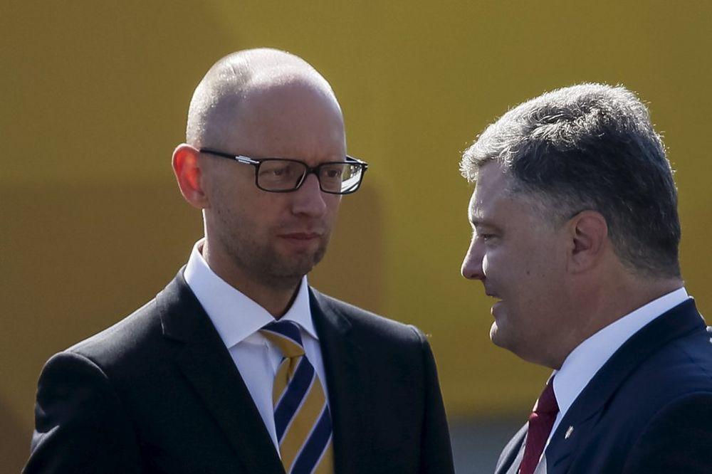 EVO KAKO SE FINANSIRAJU: Porošenko i Jacenjuk prodavali poslanička mesta za milione dolara