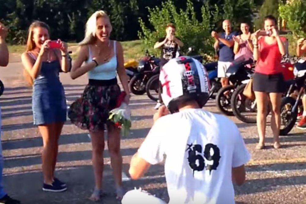 (VIDEO) NAJBIZARNIJA PROSIDBA U SRBIJI: Druge bi ga posle ovoga odbile, a evo šta je ona uradila!
