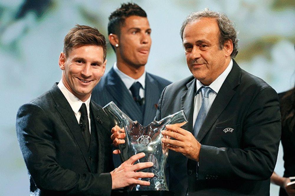 (VIDEO) RONALDO APLAUDIRAO LEU: Mesi zvanično najbolji igrač Evrope