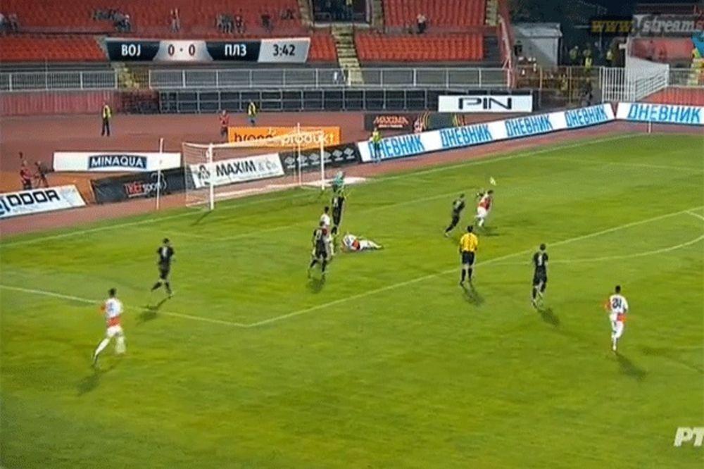 (VIDEO) ZAVRŠENA EVRO BAJKA LALA: Vojvodina i u revanšu izgubila od Viktorije - 0:2