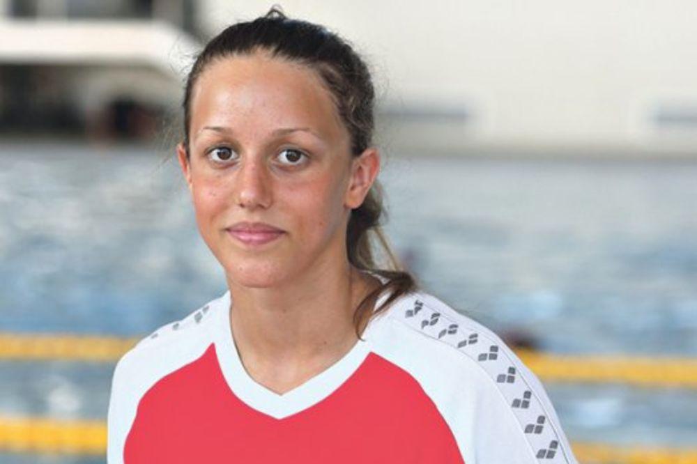 ANJA CREVAR: Najmlađa srpska olimpijka