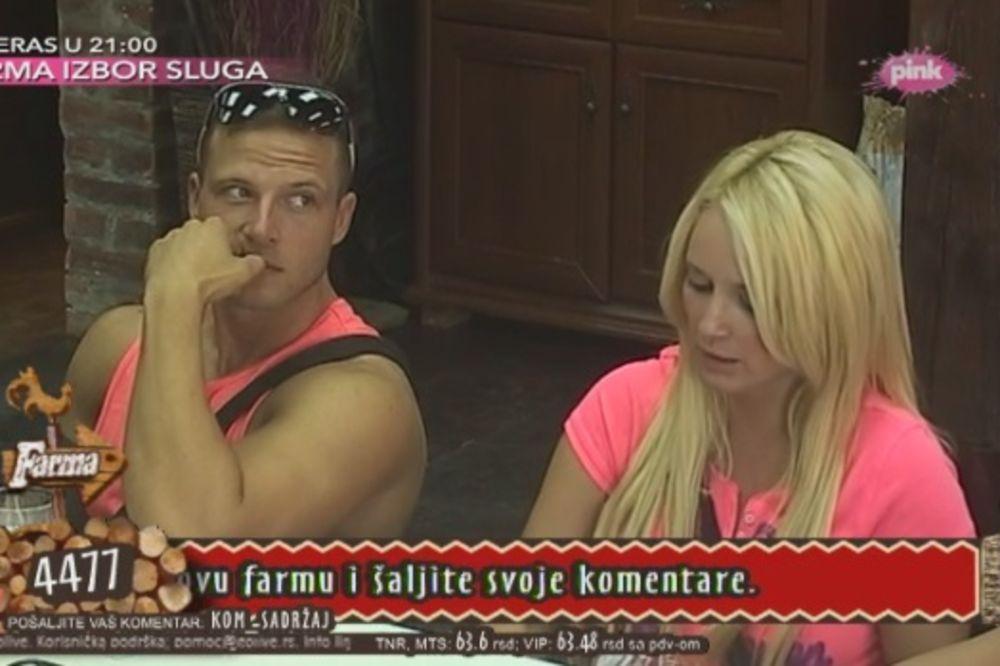 PALA KRV NA FARMI: Maja Nikolić se povredila, primila i injekciju!