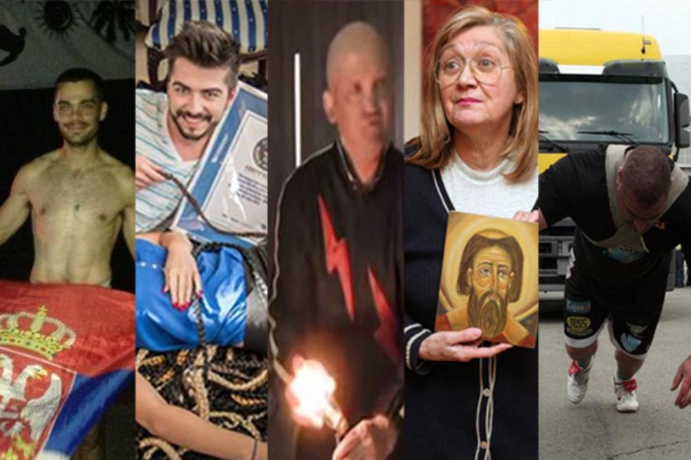 OBORENI REKORDI: Ovo je 11 Srba koji su ušli u Ginisovu knjigu