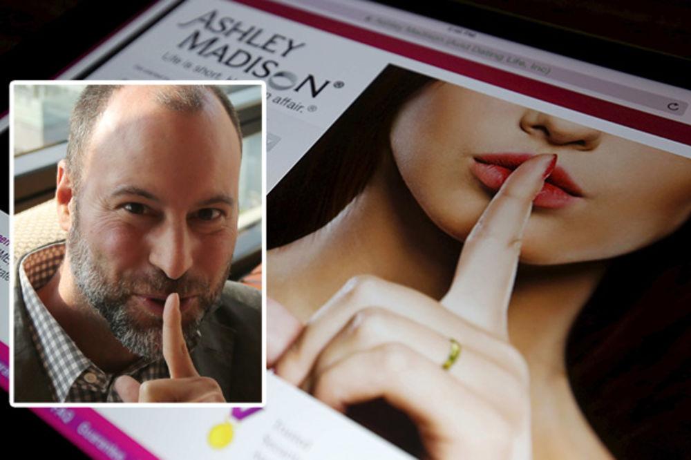 IZNEVERIO NEVERNE: Šef sajta za preljubnike Ešli Medison podneo ostavku