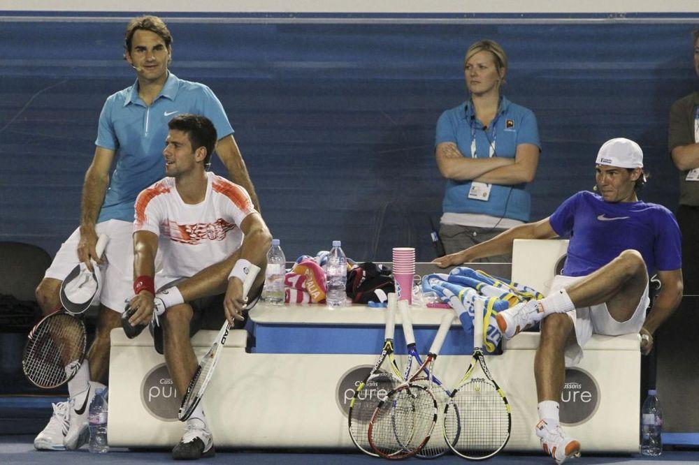 NADAL OTVORIO DUŠU: Čast Federeru, ali Novak Đoković mi je najteži protivnik