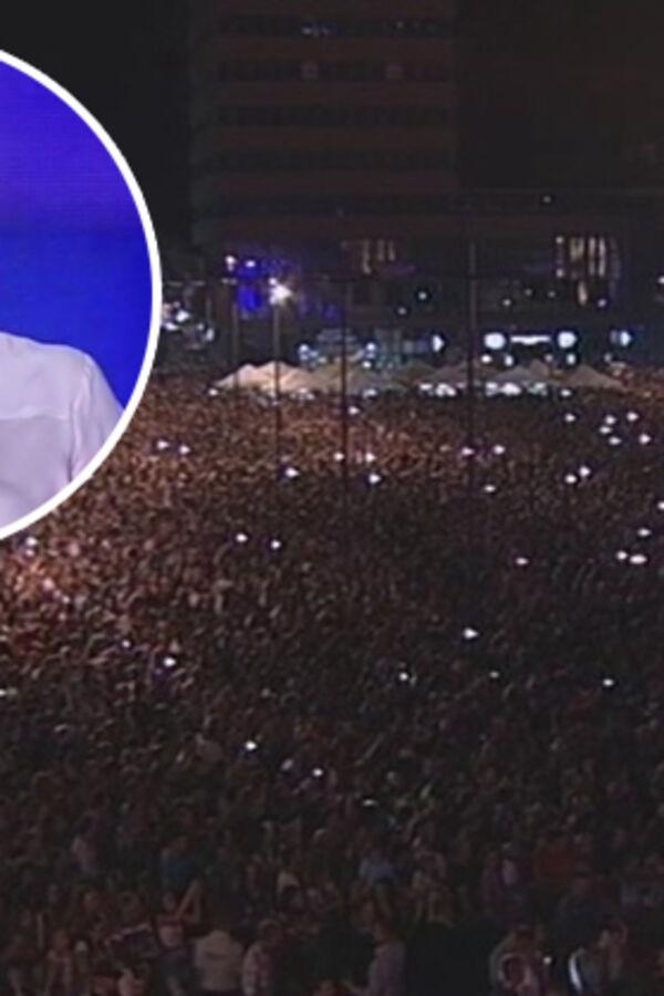 POLA VOJVODINE NA FEŠTI U ZRENJANINU: 50.000 ljudi pevalo sa Cecom!