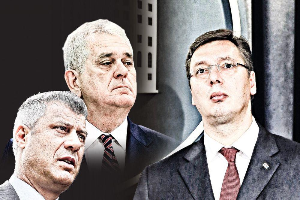 ČITAJTE U KURIRU KO JE OVDE LUD: Nikoliću i Tačiju ne valja Vučićev uspeh u Briselu!