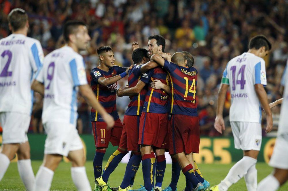 (VIDEO) VERMALEN SPASAO DOMAĆINA: Barselona u finišu slomila Malagu