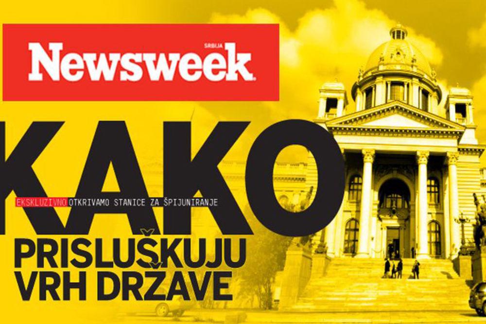 NOVI NEWSWEEK EKSKLUZIVNO: Saznajte ko špijunira najviše zvaničnike Srbije