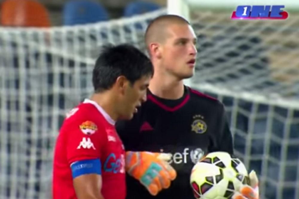 (VIDEO) RAJKO, MAJSTORE: Srbin zasijao na debiju za Makabi!