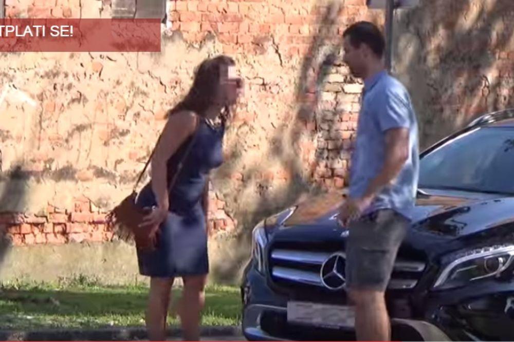 (VIDEO) PALA NA MERCEDES: Zagrepčanin ispalio sponzorušu, evo kako je prošao!