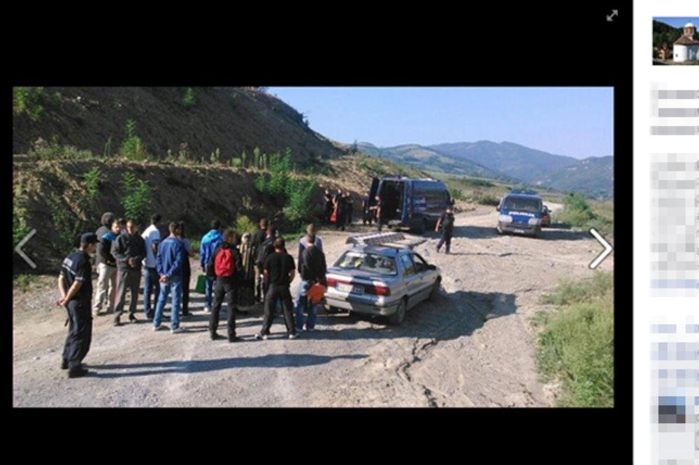HAOS ZBOG IZGRADNJE BRANE: Policija blokirala prilaze Gračanici kod Valjeva
