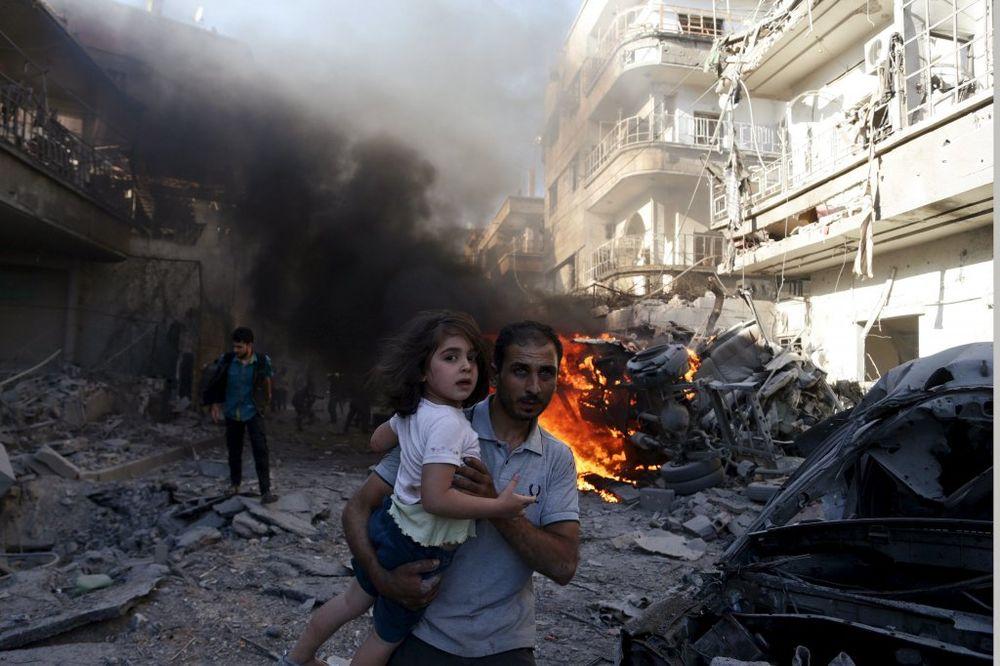 ULIČNE BORBE ZA CENTAR DAMASKA: Islamska država pred Asadovim vratima!