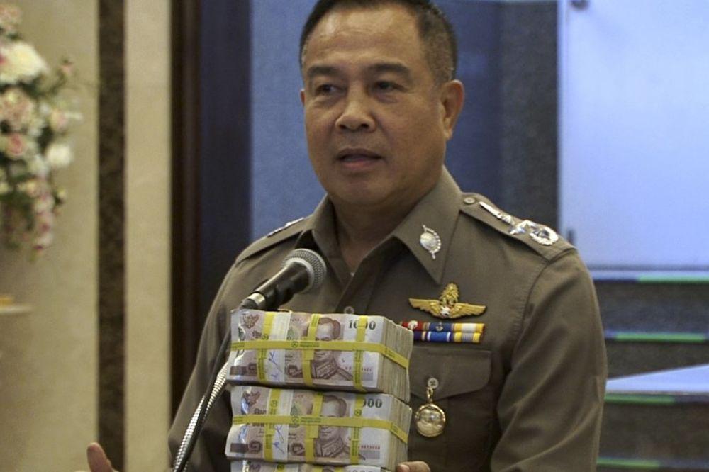 SASVIM LOGIČAN POTEZ: Tajlandska policija sebi dodelila novčanu nagradu
