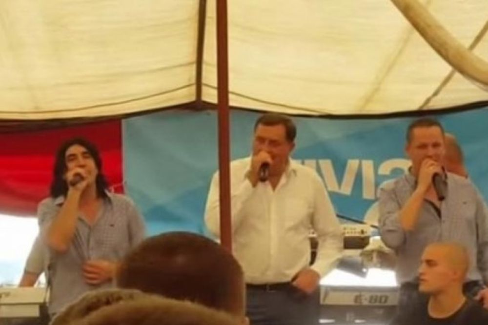(VIDEO) KO PEVA ZLO NE MISLI: Ovako je Dodik zapevao Rado, lepa Rado!