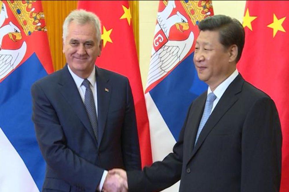 NIKOLIĆ SA SI ĐINPINGOM: Snažna ekonomska saradnja Srbije i Kine