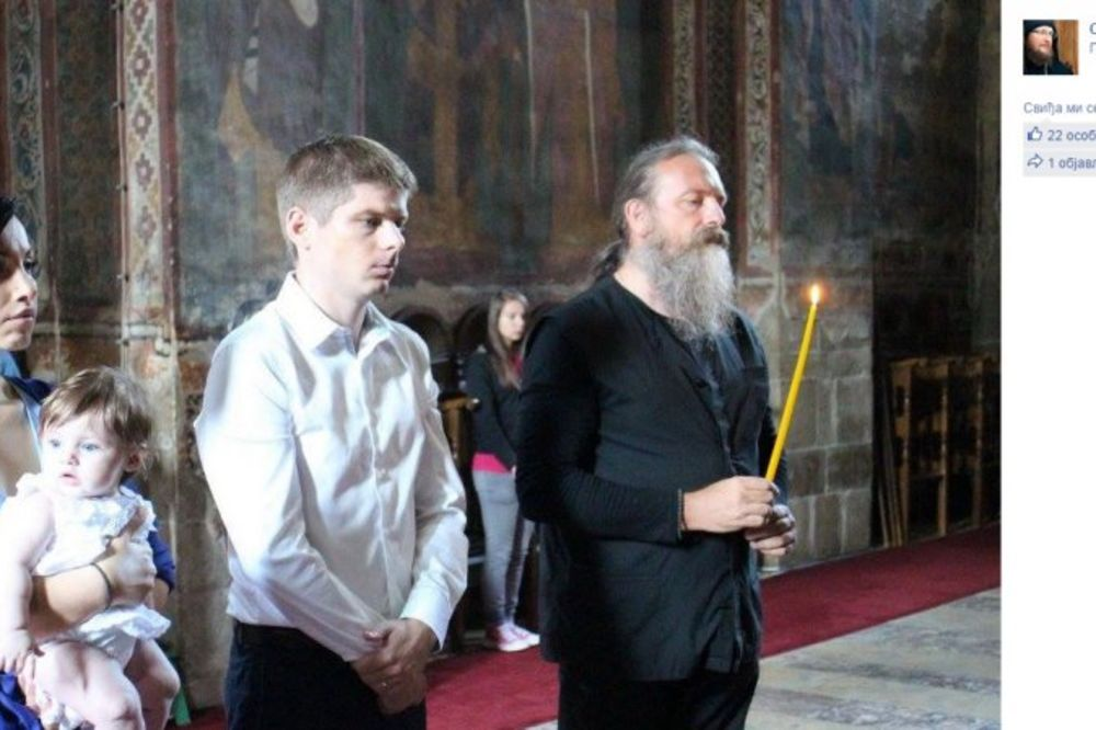VELIKI PRIJATELJ SRBIJE POSTAO PRAVOSLAVAC: Francuz Arno Gujon se krstio u Dečanima