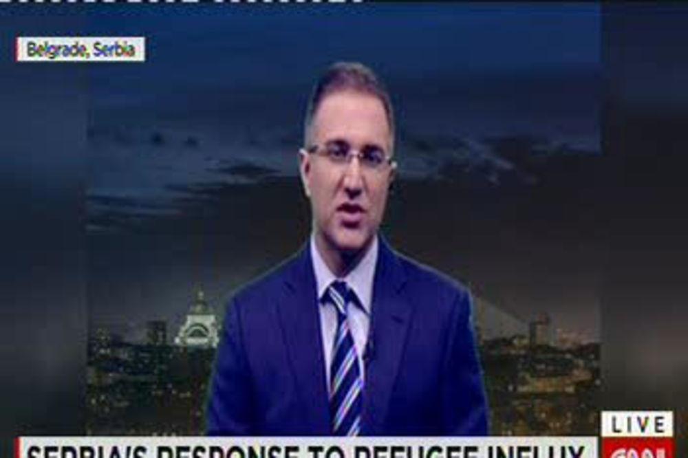 STEFANOVIĆ ZA CNN: Za migrante naći rešenje na nivou Evropske unije!