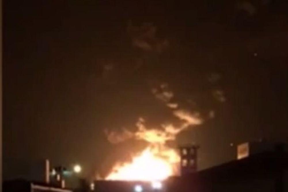 EKSPLOZIJE SVAKODNEVNE U KINI: Buknula hemijska fabrika