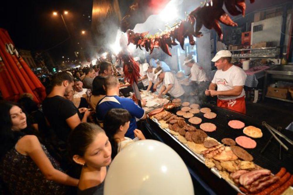UŽIVANJE ZA 700.000 GOSTIJU: Otvoren Svetski festival roštilja u Leskovcu
