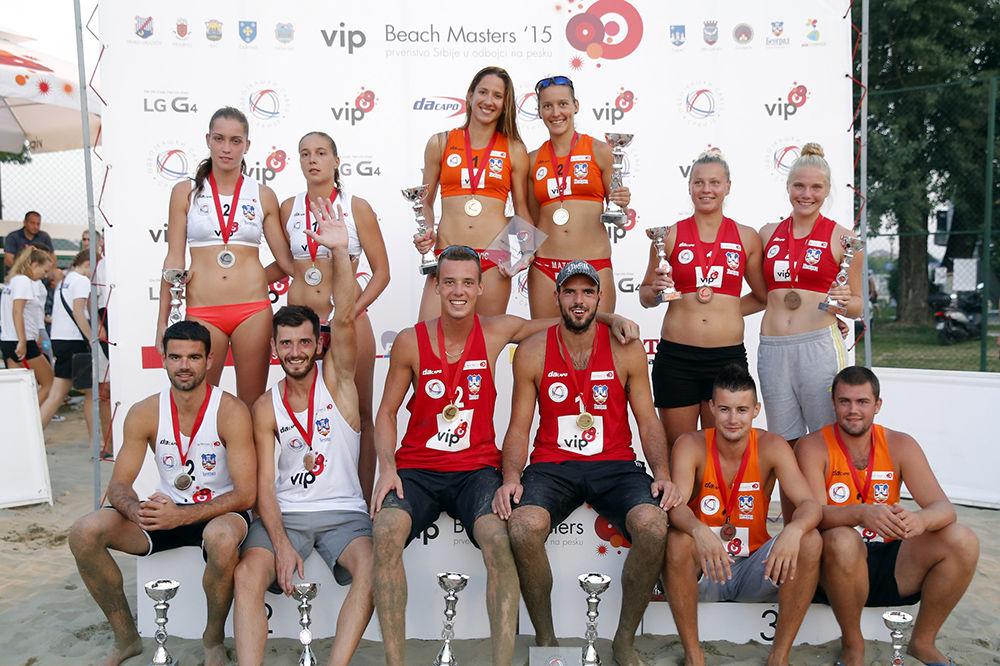 Proglašeni novi nacionalni prvaci u odbojci na pesku