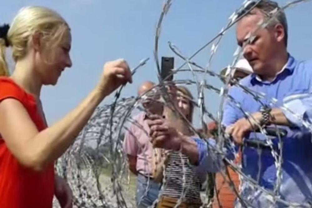 PUSTILI MIGRANTE: Dvoje aktivista iz Srbije i Mađarske presekli žicu na Horgošu
