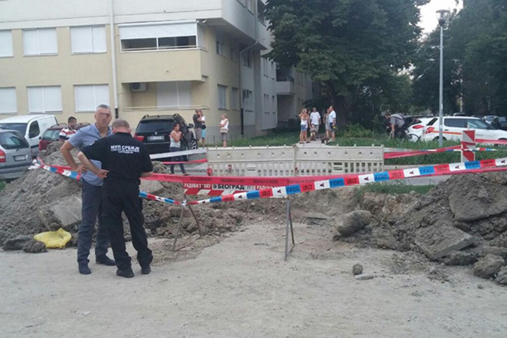 PROJEKTIL U BULEVARU ZORANA ĐINĐIĆA: Pronađena bomba iz 1944. godine