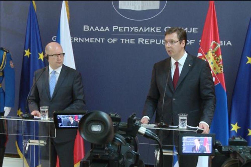 SASTANAK VUČIĆ-SOBOTKA: Srbija ima podršku Češke za otvaranje poglavlja ove godine