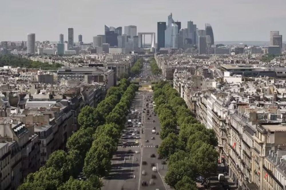 ULICE ĆE BITI PUSTE: Pariz će zabraniti automobile na jedan dan