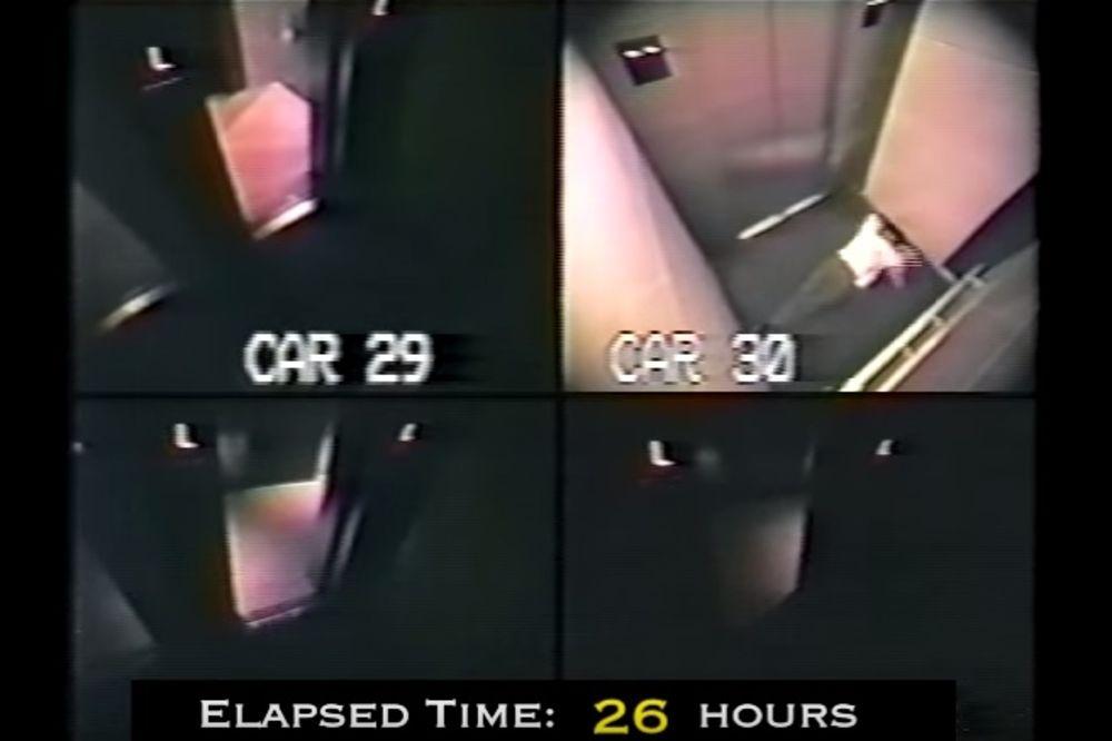 (VIDEO) ČOVEK JE BIO ZAGLAVLJEN U LIFTU 41 SAT: Nećete verovati šta su nadzorne kamere snimile