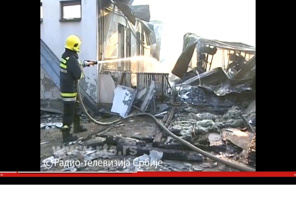 VATRA NA POČETKU ŠKOLSKE GODINE: Požar u osnovnoj školi u Smederevu