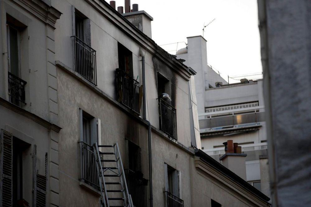 POŽAR U PARIZU: Uhapšen piroman, kod njega nađene sveće i upaljač