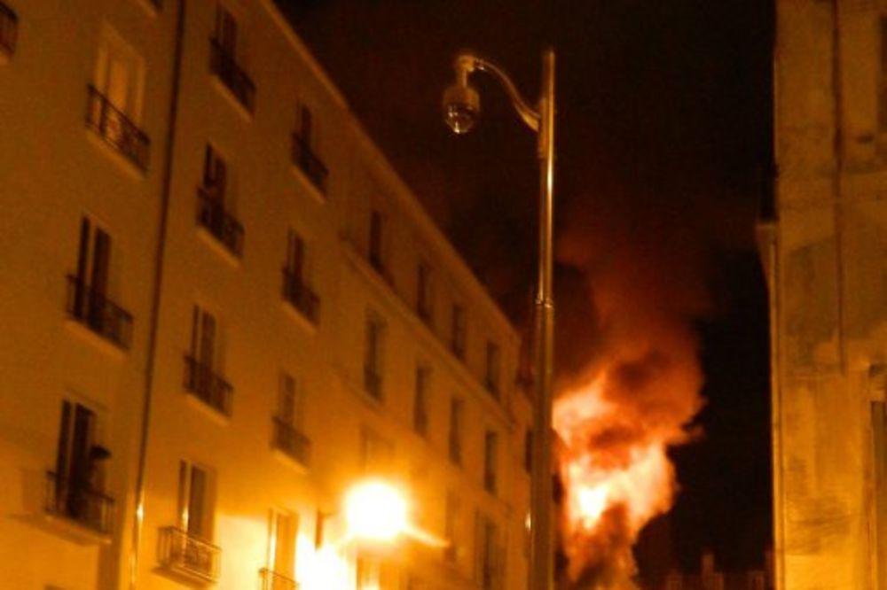(FOTO I VIDEO) SUMNJA SE DA JE PODMETNUT: U požaru u Parizu poginulo 8 osoba, od kojih 2 deteta!