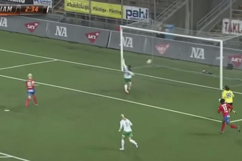 (VIDEO) OVAKAV POČETAK MEČA NIJE ŽELELA: Igračica Hamarija postigla neviđeni autogol!