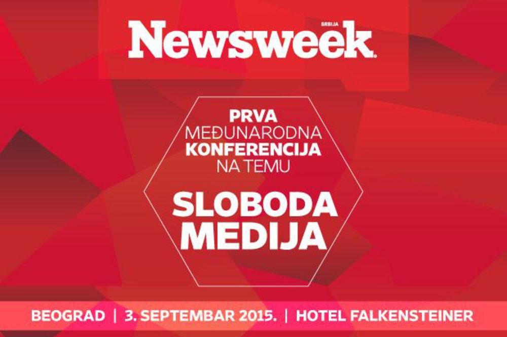 NE PROPUSTITE: Sutra se održava Njuzvikova konferencija o slobodi medija