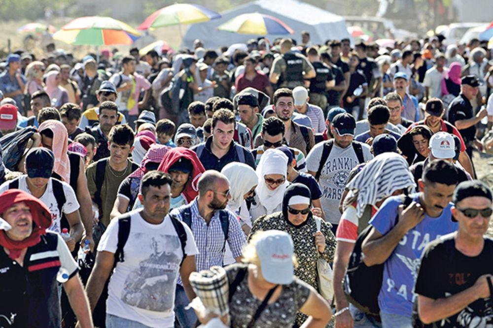 NELJUDSKI: Mađari nam vraćaju 49.500 migranata!