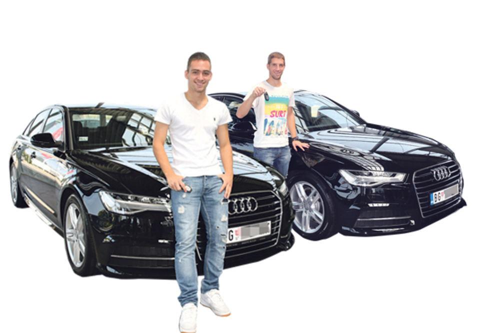AUDI DAROVAO ŠAMPIONA: Partizanovcima auto za svadbu!