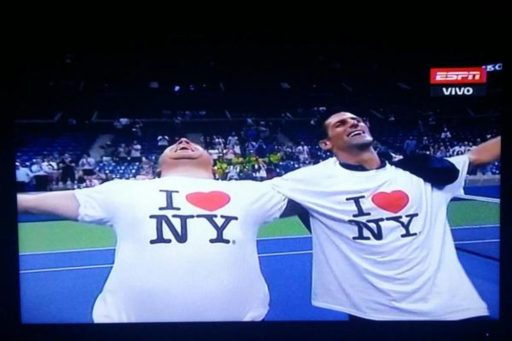 (VIDEO) NEVEROVATNI NOLE: Pogledajte šta je Đoković uradio posle pobede na US Openu