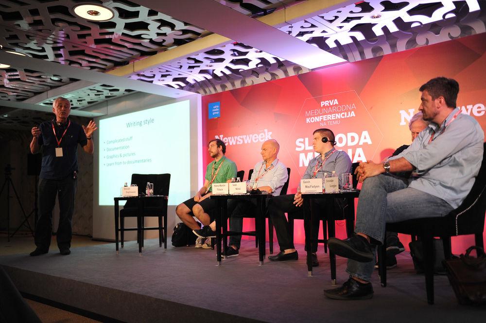 PRENOS UŽIVO Prva Njuzvikova međunarodna konferencija o slobodi medija