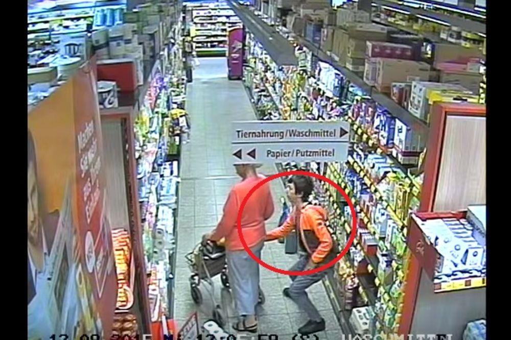 (VIDEO) UPOZORENJE: Ovako vam kradu novčanike u prodavnicama!