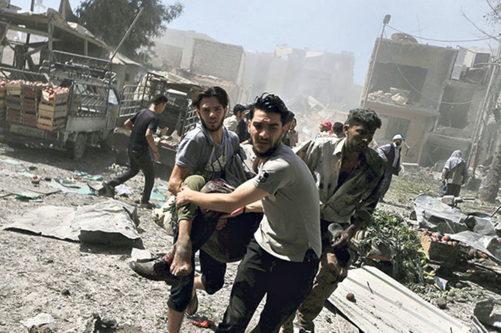 ŠOK: Rusi avionima i tenkovima upali u Siriju?