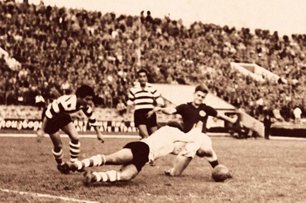 (VIDEO) CRNO-BELI OTVORILI LŠ: Partizan je tačno pre 60 godina ispisao istoriju evropskog fudbala